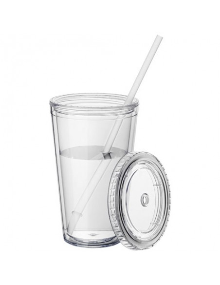 Timbale et paille Cyclone 450ml